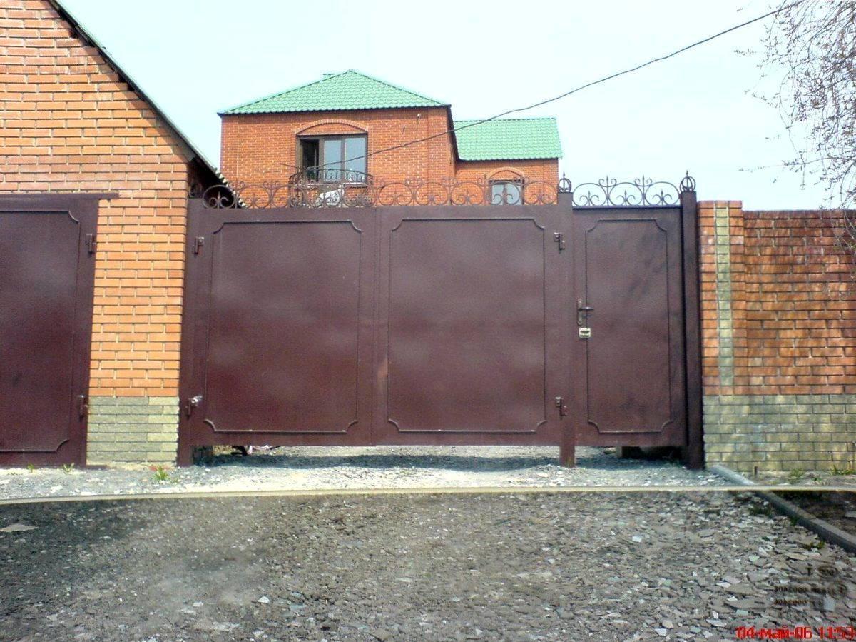 ворота для гаража металлические цена ногинск